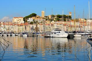 Cannes / Vieux Port / Tour du Suquet