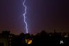Éclair en Bigorre (Janick Norman Leroy) Tags: éclair bigorre orage storm lightning canon eos 1200d rebel t5 tarbes france nature meteo