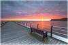 Saltburn Pier (Steven Peachey) Tags: seascape sunrise sea sky clouds sun morning pier canon saltburnpier saltburnbythesea ef1740mmf4l 5dmarkiv canon5dmarkiv leefilters graduatedndfilter formatthitech lee09gnd stevenpeachey lightroom le