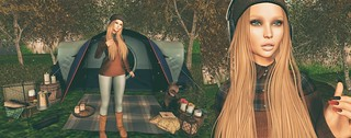I'm going camping
