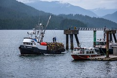 Out for Night-time Trapping (MIKOFOX ⌘ Thanks 4 Your Faves!) Tags: canada ship britishcolumbia dock wharf boat xt2 princerupert june yellowheadhighway learnfromexif bc fujifilmxt2 harbour mikofox crabcages spring xf18135mmf3556rlmoiswr