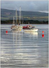 Mull mooring (bob the bolder) Tags: uk scotland mull tobermory harbour boat moored
