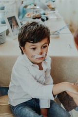 Ruben 💙 (lele_carmen) Tags: lxc tribearchipelago lookslikefilm funny mouse painting face child people kids boy