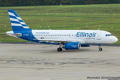 SX-EMB - Airbus A319-133 - Ellinair (MikeSierraPhotography) Tags: air airport cgn cgneddk cologne country deutschland flughafen germany köln plane spotting town