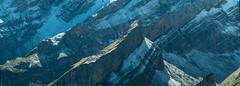 """Alpstein """"Fragment"""" - Aussicht vom Schaefler - Appenzell Rocks even more! (auggie w) Tags: mountain alps alpstein appenzell switzerland rocks snow peaks"""