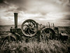 Contraption (Feldore) Tags: orkney engine machinery roller steam papa westray field abandoned rusty rust sepia islands victorian steampunk feldore mchugh em1 olympus 1240mm agricultural machine