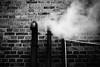 Combustion 36.365 (ewitsoe) Tags: steam heat heating combust nikon d80 35mm street city urban cold chilly ewitsoe 365 36 poznan poland polska monochrome bnw blackandwhite