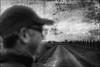 L'homme à la casquette (Des.Nam) Tags: nb noiretblanc nordpasdecalais nord hautsdefrance flandres flou silverefex analogefex paysage portrait desnam samgsung nx10 street streetphotographie streetportrait bw blackwhite mono