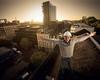 SCOTT (mister evans) Tags: nikon d800 sb900 portrait sunrise hardhat roof top removedfromstrobistpool incompletestrobistinfo seerule2