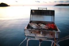 Grilling and Chilling (Waterjoe) Tags: saiing ship grill fish water sea adria adriaticsea canoneos6dmarkii sigma sigma2414 artlense rovinj croatia barbecue meer schiff segeln segel