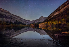 Good night among the stars... (Andy'z Art) Tags: stars lake lac toilets derborence nuit night shot andz art nikon d810 1424 suisse switzerland outdoor