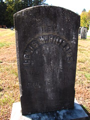 Lewis W Phillips (Steve Dow) Tags: elkins cemetery newlondon nh newhampshire civilwar american veteran grave gravestone