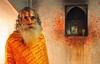 India- Jaipur-Rajasthan (venturidonatella) Tags: india asia jaipur colori colors nikon nikond300 d300 portrait ritratto emozioni people persone gentes sguardo look sadhu santone rajasthan arancione orange