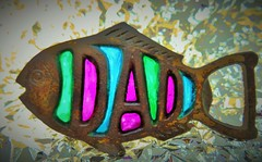 Thanks Dad (seanwalsh4) Tags: macromondays souvenir thanksdad fishshapedbottleopener