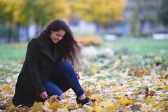 Autumn...the year's last, loveliest smile. (TRUE.panda) Tags: zeiss carlzeiss za sonnart18135 sony a850 autumn people portrait