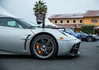 Pagani (copyrighttoy) Tags: pagani huayra orange brake caliper silver monterey car week 2017 front fender rims wheels