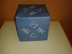 Modular origami cube (ISO_rigami) Tags: origami modular a4 sonobe rectangular cube polyhedron 3d