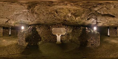 The Catacombs of Paris (360º Photo)