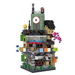 70620 - Ninjago City (Mini Modular) (Adeel Zubair) Tags: lego 70620 ninjago city modular building mini microscale movie moc afol design model