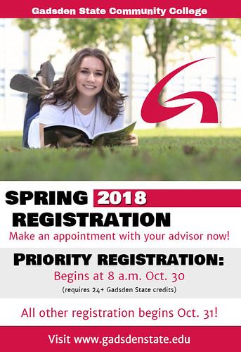 Gadsden State Spring Registration