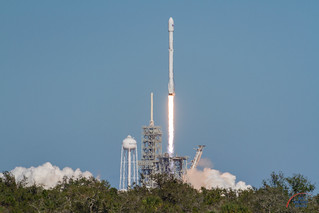 KoreaSat5A by SpaceX