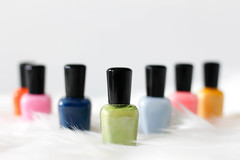 colorful Nail Polish (wuestenigel) Tags: container isolated varnish manicure nail liquid polish noperson keineperson treatment behandlung merchandise waren aromatherapy aromatherapie plastic kunststoff soap seife relaxation entspannung shining leuchtenden motley bunt bright hell health gesundheit nagel gel dieleute luxury luxus woman frau tube nature natur healthcare gesundheitswesen lack