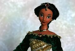 Holiday Princess Jasmine 1999 (Emily-Noiret) Tags: holiday princess jasmine 1999 mattel doll vintage disney barbie