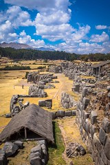 Saqsaywaman archeological site.