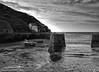 B&W Porthgain Harbour - Agfa APX Pro 100 - P9241140 (Welsh Scrum Half) Tags: pembrokeshire pentreifan treleddydfawr mwntchurch wales westwales blackwhite landscapes blackwhitelanscapes bw bwlandscapes olympus olympusomdem1 olympuscameras fishguard stdavids nevern celticcross wheretheheartis porthgain mvgphotographycouk mvgphotographycom northpembrokeshire