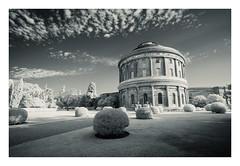 Ickworth House 14 Sept 2016 (Matthew Dartford) Tags: infrared photography bw eastanglia ickworthhouse architecture blackandwhite bokeh ir landscape mono monochrome norfolk