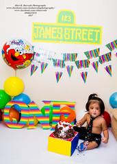 Sean & James (Rico B. Barreda Photography) Tags: filipino philippines naga city baby boy first bday birthday st james subdivision canon 700d tamron 1750mm 28 vr flash photography prebirthday shoot smashing cake
