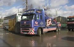 Scrap Kings (ekawrecker) Tags: carlton scrap yard scrapping nadge nadger breakdown recovery scrapyard bus truck p993afv yellow buses bournemouth uk coachways dennis dart pn07ggj