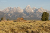 Mormon Barn (sbuckinghamnj) Tags: barn mormonbarn grandtetonnationalpark grandteton wyoming mountains