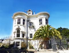casa victoriana San Francisco California EEUU 01 (Rafael Gomez - http://micamara.es) Tags: casa victoriana san francisco california eeuu