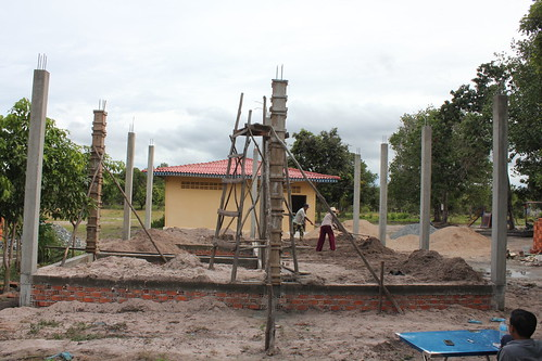 Pillars on solid foundation