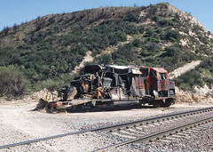 One Day I Arrived at Cajon Pass and Found This (railfan 44) Tags: santafe atsf