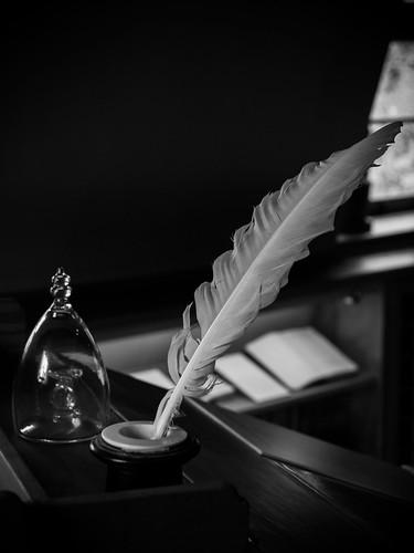 Friedrich Schiller's pen - JENA, From FlickrPhotos