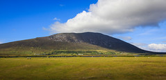 A view on Mount Slievemore - Achill Island (ClarkHodissay) Tags: achill island mount slievemore