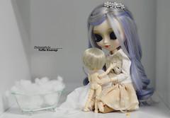 Bath time (·Yuffie Kisaragi·) Tags: doll dolls pullip galene adamantiun little dal rooster viggo obitsu rewigged rechipped