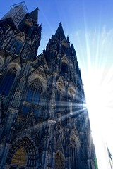 Cologne (**Karin**) Tags: herbstsonne cologne kölnerdom bluesky sun autumn