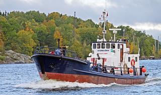 The bunker vessel Storbjörn in Stockholm