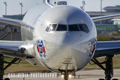 Boeing 767-432(ER) Delta Air Lines N841MH (Curimedia | P H O T O G R A P H Y) Tags: boeing 767432er delta air lines n841mh departing 25r barcelona airport lebl catalunya catalonia aeroport aeropuerto bcn katalonia cataluña