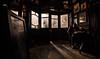 A Full English Breakfast @ The Fox and Anchor (p.g604) Tags: an english breakfast the fox anchor london charterhouse street latham a withall william j neatby 115charterhousest clerkenwell londonec1m6aa dark drama silhouettes shadows light windows room smithfield