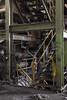 two options. (stevenbley) Tags: abandoned decay rust warpedwood woodfloors urbex urbanexploration grime leakyroofs steelmanufacturing steel newjersey nj power industrial historical guerillahistorian canon5dmarkii 5dmk2 concrete