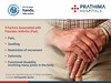 Prathima hospitals - world arthritis day (3) (PrathimaHospitals) Tags: prathimahospitals world arthritis day healing hands for 5 factors associated with psoriaticarthritis psa pitted fingernails swollen fingers toes foot pain tender or ligament joint stiffness andor personal family history psoriasis damage joints affects movements it can be severe cause disability