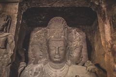 Mumbai - Bombay - Elephanta Island caves-7