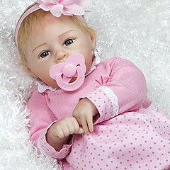 Paradise Galleries Real Life Baby Doll, Little Lara, Girl Doll Crafted in Silicone-Like Vinyl and Weighted Body, 20 inch (saidkam29) Tags: baby body crafted doll galleries girl inch lara life little paradise real siliconelike vinyl weighted