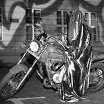 Festival of Lights - Time Traveler - Guardian rider  - B&W [1/2] thumbnail