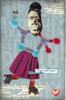 CC Exquisite Corpse postcard