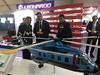 Ecuador Chief of Air Force visits Leonardo's stand